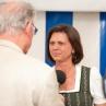 Ilse Aigner zu Besuch in Emmerting