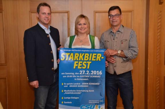 Einladung zum Starkbierfest 2016