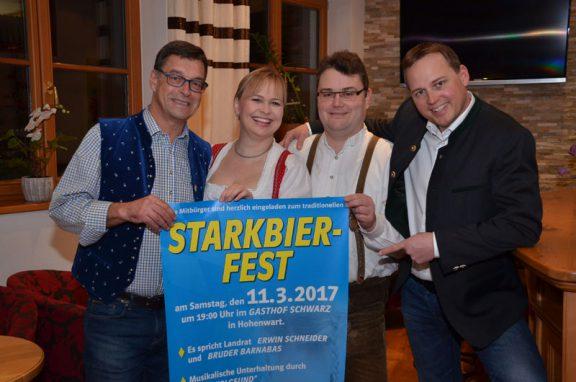 Einladung zum Starkbierfest 2017