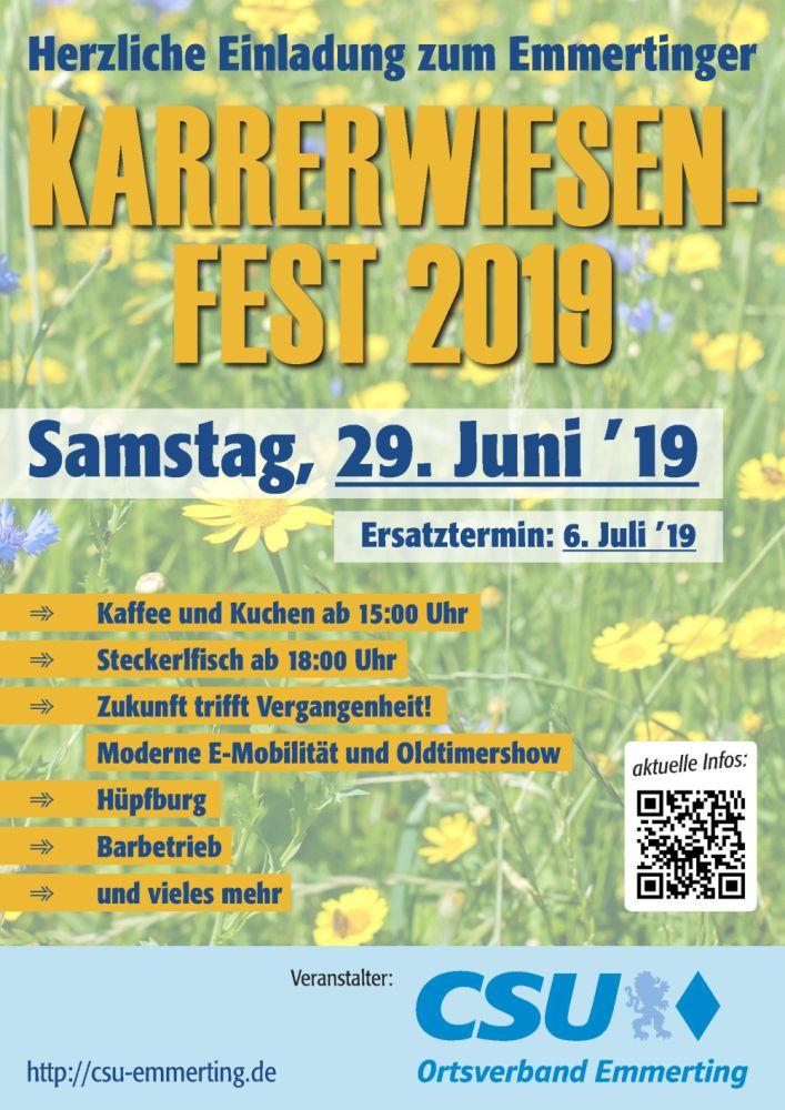 Karrerwiesenfest 2019